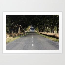 long drive Art Print