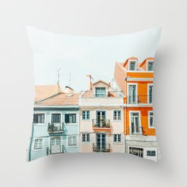 Beautiful Day #photography #architecture Throw Pillow