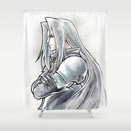 Sephiroth Artwork Final Fantasy VII Shower Curtain