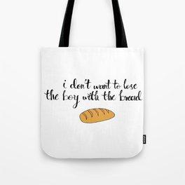 Peeta The Bread Boy Tote Bag