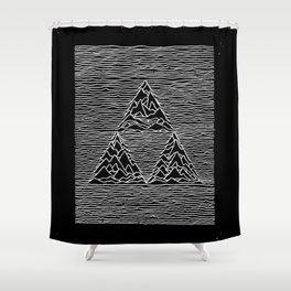 Triforce // Joy Division Shower Curtain
