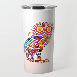 Athenian Owl Travel Mug