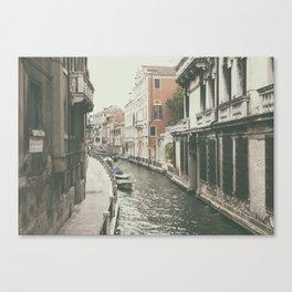 Venice canal, Italy Canvas Print