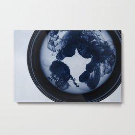 Untitled Blue Metal Print