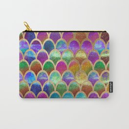 Rainbow mermaid scales Carry-All Pouch