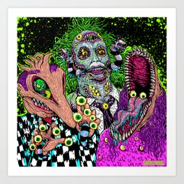 Ghost Monsters Kunstdrucke