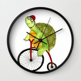 Turtle Wall Clock