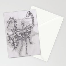 emperor scorpion Stationery Cards