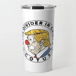 COTUS - Clown of the United States Travel Mug