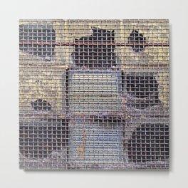 Window Holes Metal Print