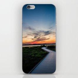 Walkway to the Sunset iPhone Skin