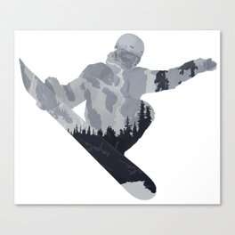 Snowboard Exposure SP | DopeyArt Canvas Print