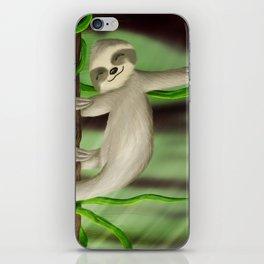Just slothin' iPhone Skin