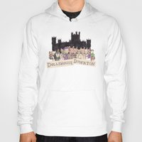 downton abbey Hoodies featuring Downton Abbey - Dollshouse Downton by Grace Venning
