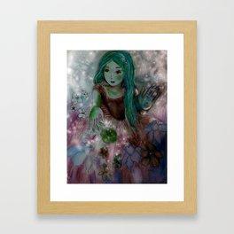 Blue Significance Framed Art Print