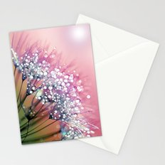 rainbow dandelion Stationery Cards