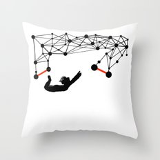 the Trapeze Throw Pillow