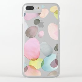 Pebble Collection Clear iPhone Case