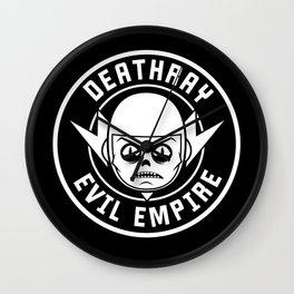 DeathRay Evil Empire Logo Wall Clock
