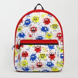 Splatter Paint Backpack ba32796091051