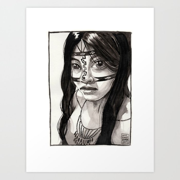 Ecuadorian Art Print