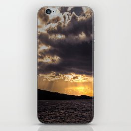 Dramatic change in the weather iPhone Skin