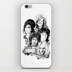 The 27 Club iPhone & iPod Skin