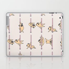 Pugs Pole Dancing Club Laptop & iPad Skin