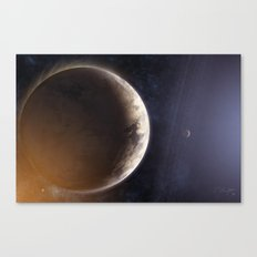 Aura Canvas Print