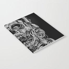 2 FACES SKULL Notebook