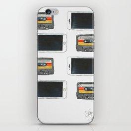 Old Vs. New iPhone Skin