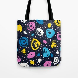 Brush color circle and blot Tote Bag