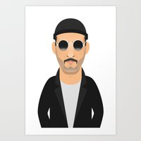 leon Art Prints featuring Leon by Capitoni