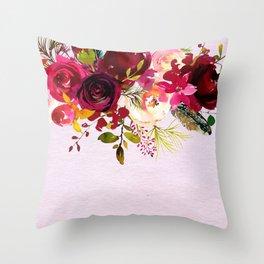 Flowers bouquet #38 Throw Pillow