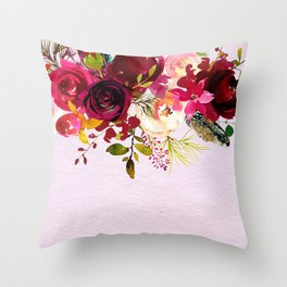 Flowers bouquet #38 Throw Pillow