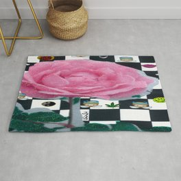 MY ROSE IS KAWAII Rug