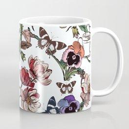Violets garden. Vintage nostalgia Coffee Mug