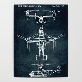 BELL BOEING V-22 OSPREY -1989 Poster