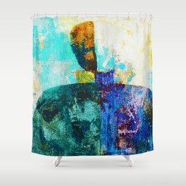 Malevich 2 Shower Curtain