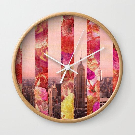 N/Y/C Wall Clock