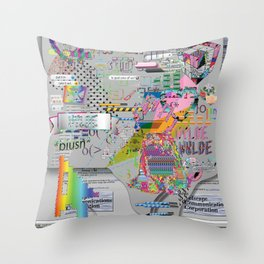 internetted Throw Pillow