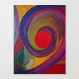 Swirlie Canvas Print