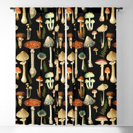 Toadstools Blackout Curtain