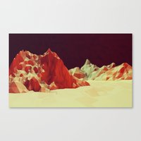 mars Canvas Prints featuring Mars by Timothy J. Reynolds