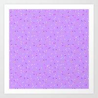 Omg, Sprinkles Art Print
