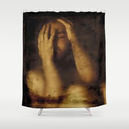 Conserved Shower Curtain