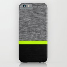 Athletic Grey and Lime Slim Case iPhone 6