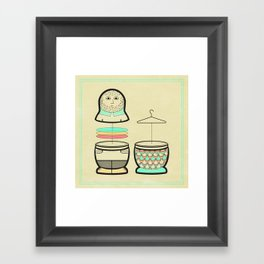 Everybody should have the opportunity to become a mermaid Framed Art Print