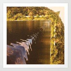 Waterfall or nah? Art Print