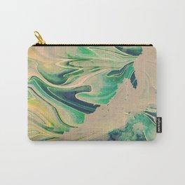 Nubes verdes Carry-All Pouch